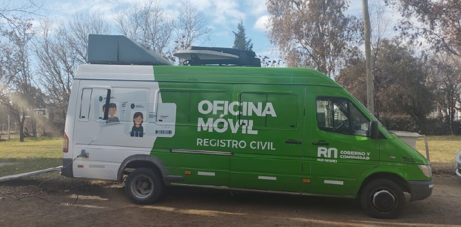 La oficina móvil del Registro Civil llega a Catriel